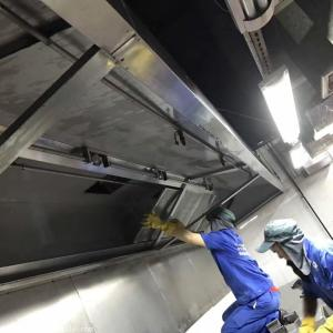 重庆大型油烟机清洗