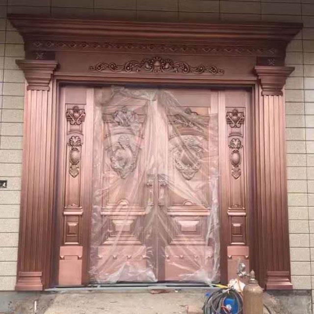 重庆四开铜门厂家
