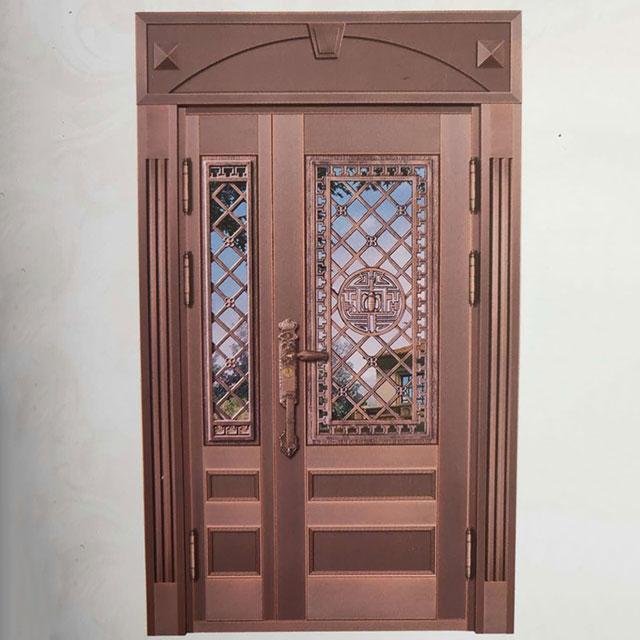 重庆子母铜门