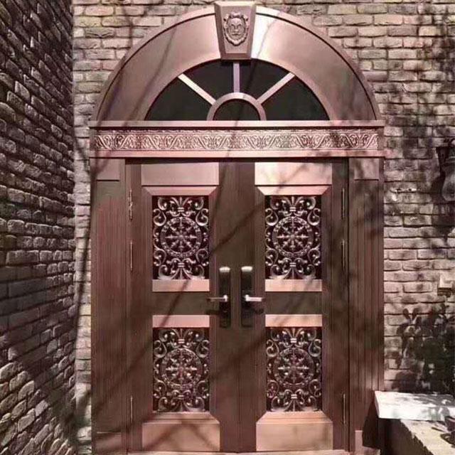 工程庭院门
