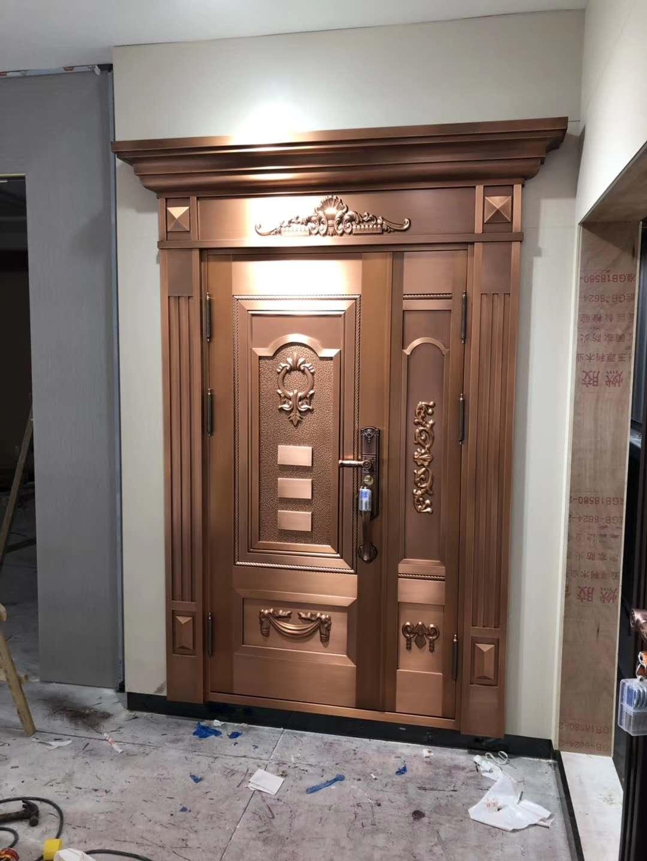 子母铜门制造商