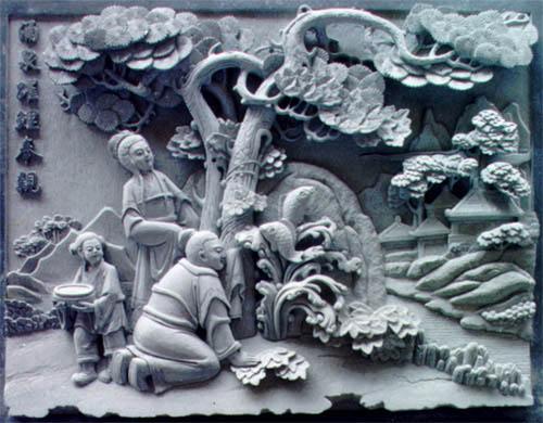 重庆玉石浮雕
