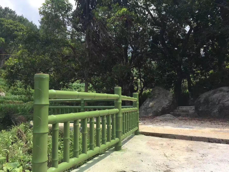 公园仿木围栏