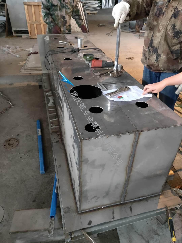 不锈钢现场机械加工图