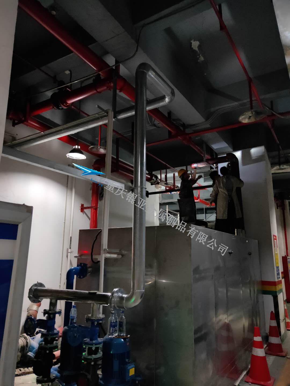 油水处理设备管道连接