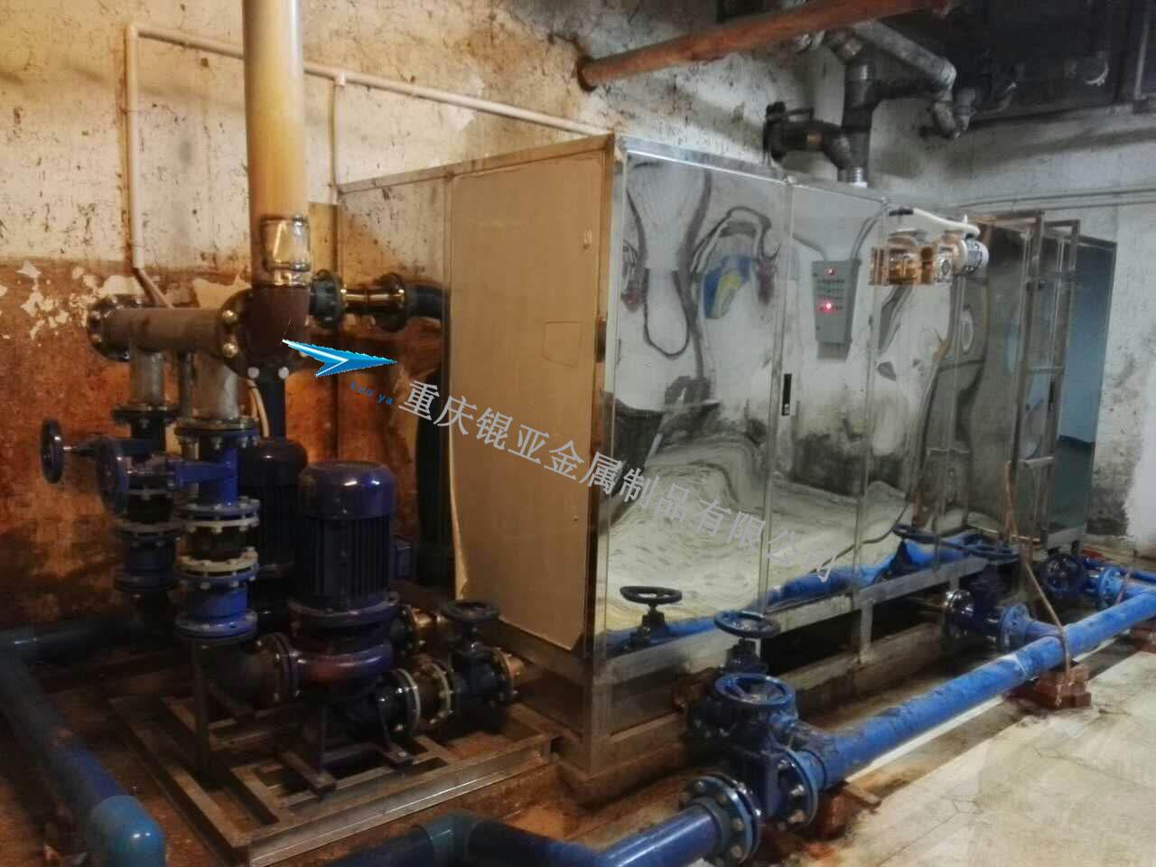 油水处理设备现场图