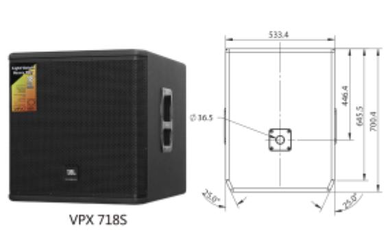JBL VPX718   18寸低音音響