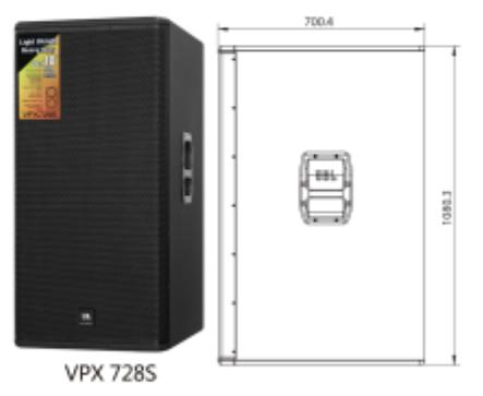 JBL VPX728S  雙十八超低音