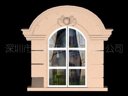 GRC简约窗套