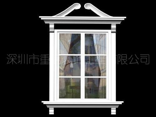 GRC线条窗套
