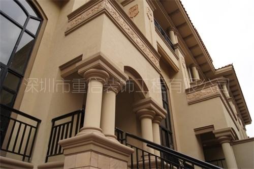 罗马柱装饰材料
