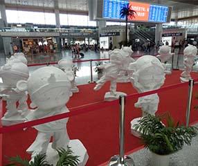 九江玻璃钢雕塑