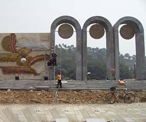 九江锻铜雕塑
