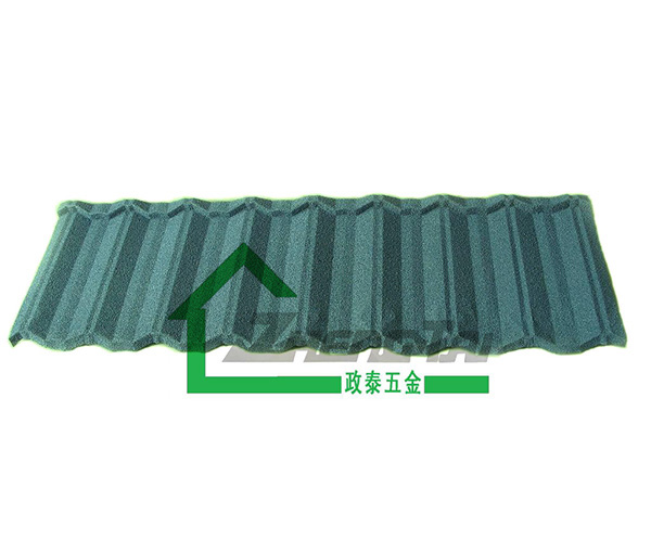 墨绿色金属瓦