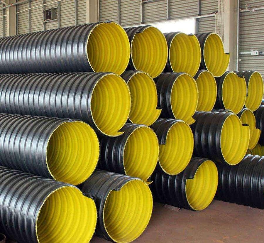 云南HDPE钢带螺旋波纹管