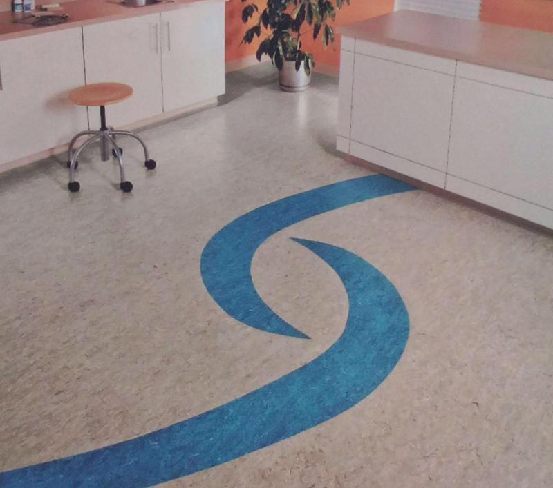 办公室商用塑胶地板