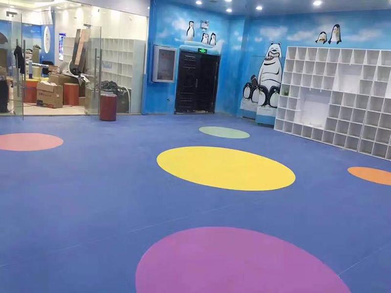 重庆早教机构PVC地板