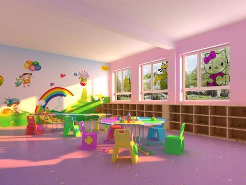 重庆幼儿园pvc地板安装