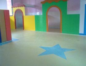 重庆幼儿园教室PVC地板
