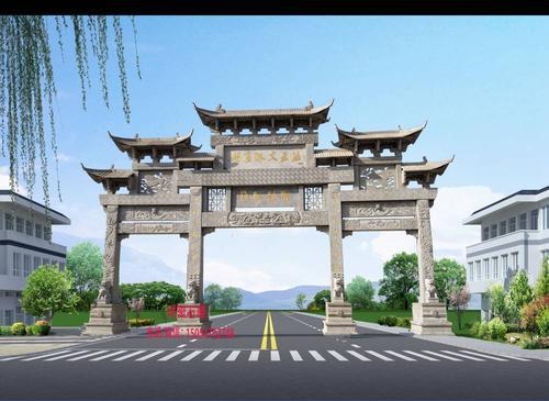 重庆石牌坊雕刻
