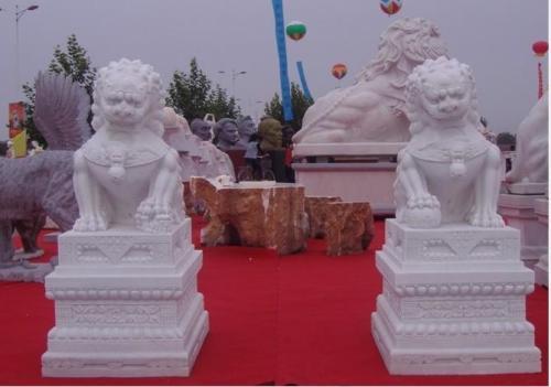 重庆石雕狮子保养