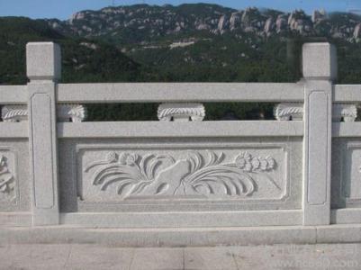 重庆石雕栏杆制作