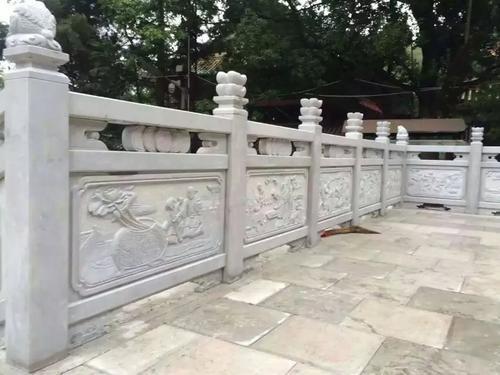别墅石雕栏杆