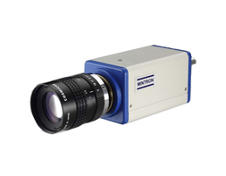 Color high resolution intense light suppression camera
