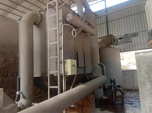 垃圾碳化热解炉