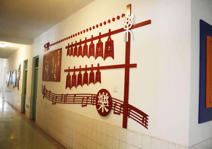 石家庄校园文化墙设计