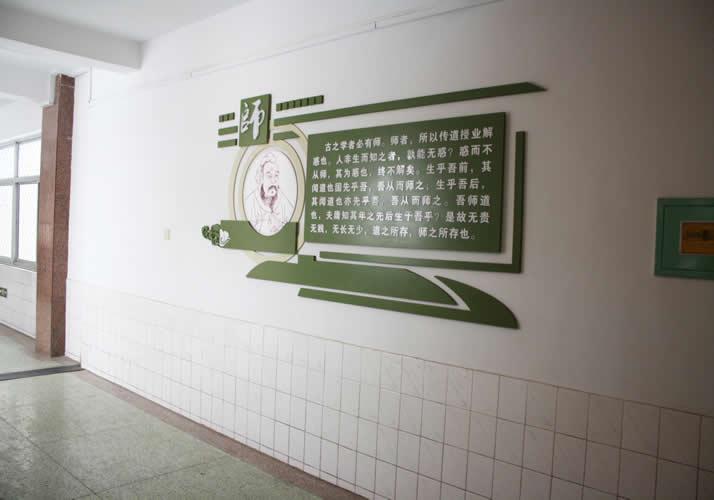 石家庄校园走廊文化