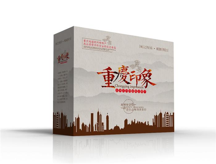 土特产包装盒定制
