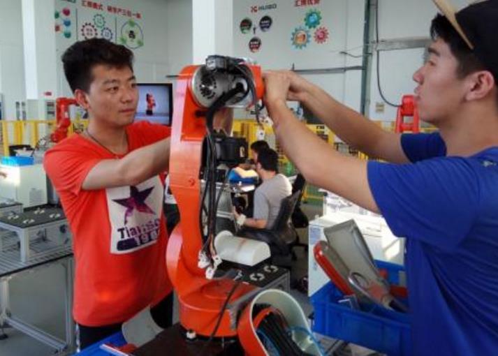 工业机器人项目实战培训
