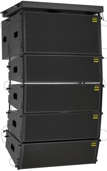 L8-LAP双8寸有源线阵(内置D类功放板)