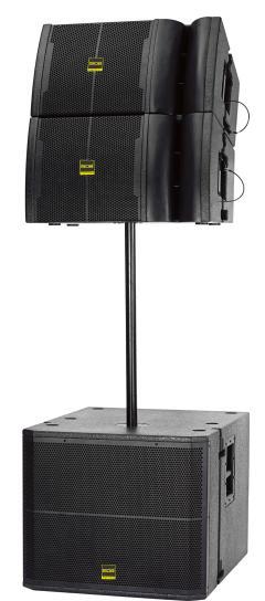 VR12单12寸线阵(内置D类功放板)