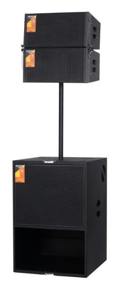 VR410单10寸两分频演出线阵