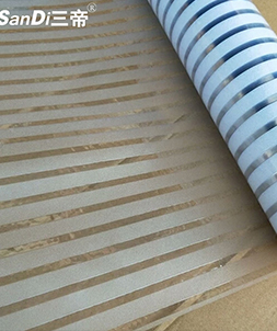 条纹装饰膜