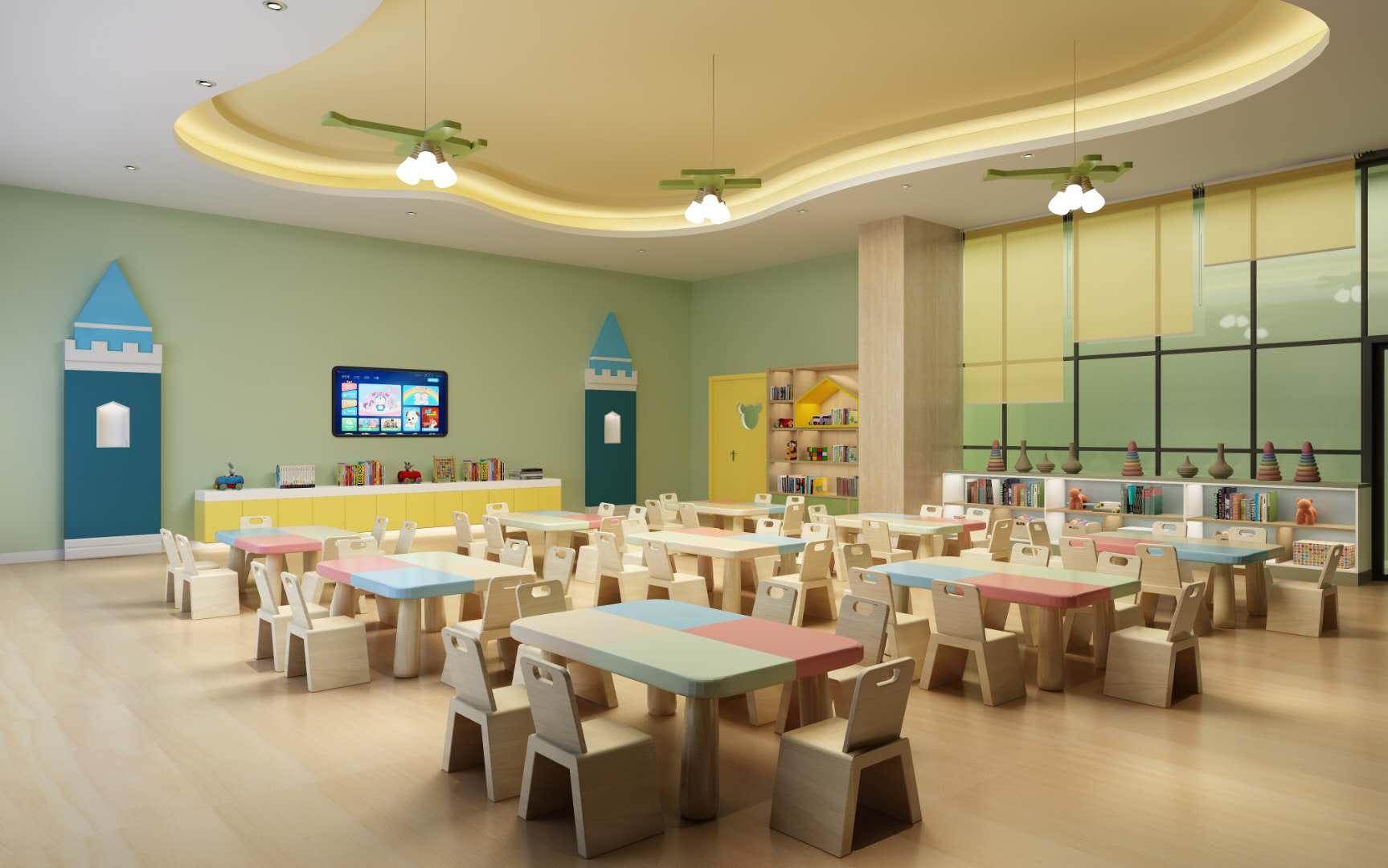 重庆幼儿园装修效果图