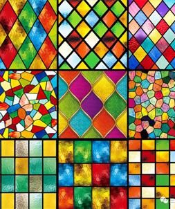 图画玻璃膜