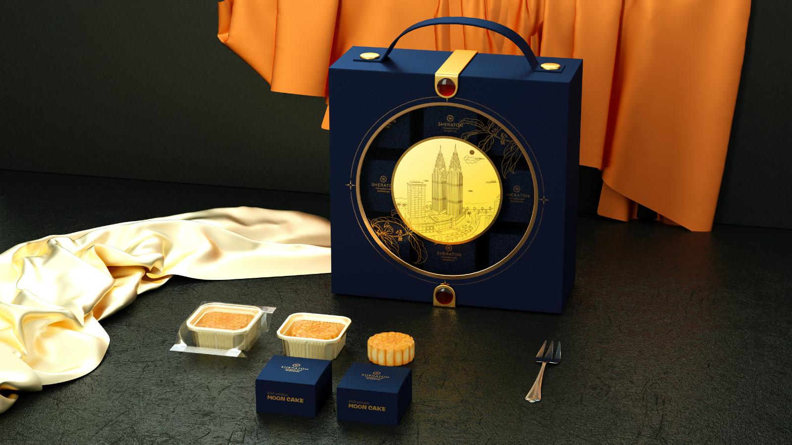 环保月饼盒
