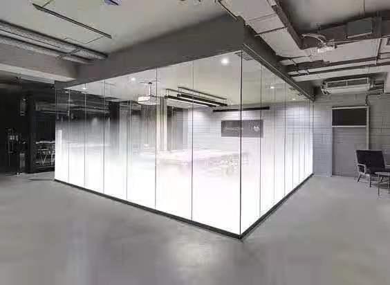 办公室玻璃门贴膜