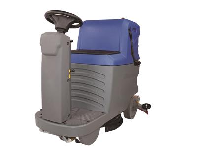 迷你型驾驶式洗地机