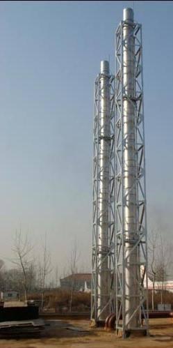 重庆自立式不锈钢烟囱价格