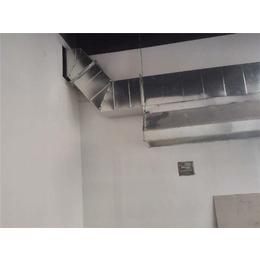 厨房排油烟道安装