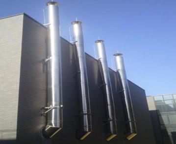 重庆厨房排油烟道设计