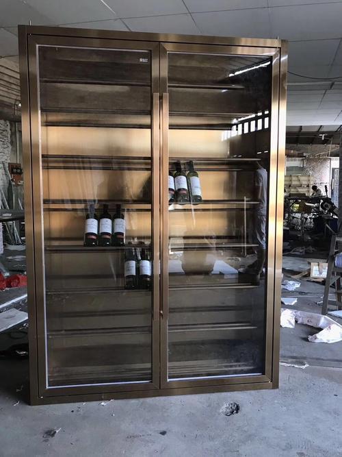 昆明不锈钢酒柜定做