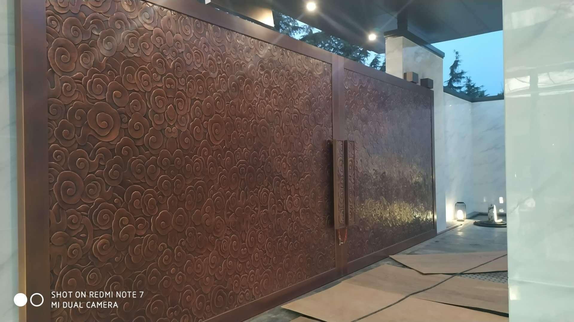 云南不锈钢背景墙制作
