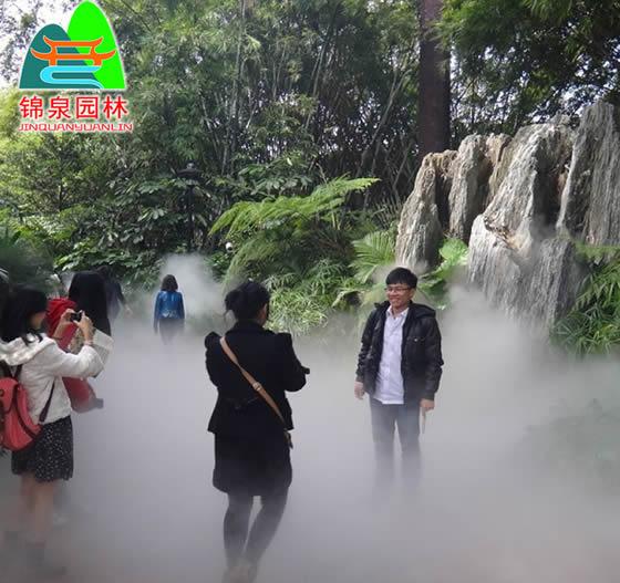景區冷霧噴泉