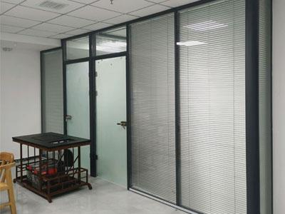 石家庄双层玻璃隔断制作