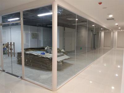 单层玻璃隔断制作